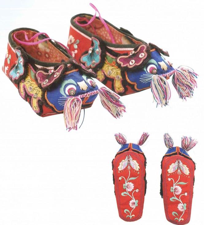 6狮子纹婴儿鞋 民国.jpg