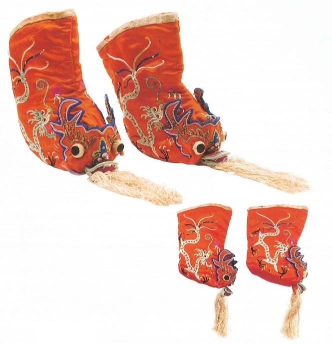 6龙纹带须婴儿靴 民国.jpg