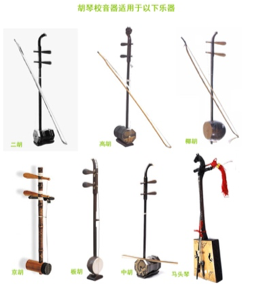 Different Types of Vertical Fiddles