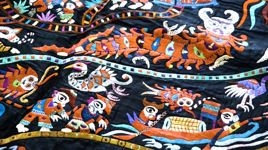 Exploring the symbolism of Miao Hmongembroidery
